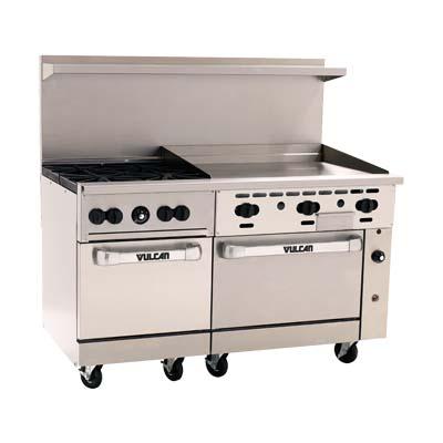 vulcan hart 60ss 4b36g 4 burner restaurant range w 36 in manual rh jesrestaurantequipment com Vulcan Commercial Stoves and Ovens Vulcan Deep Fryer