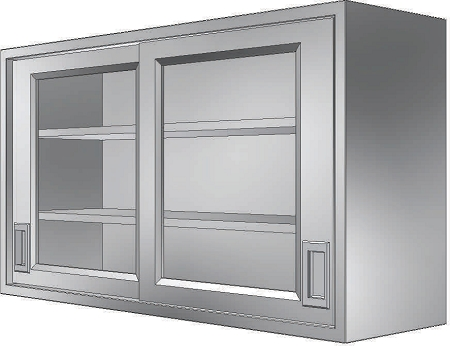 Stainless Cabinets Wall Units