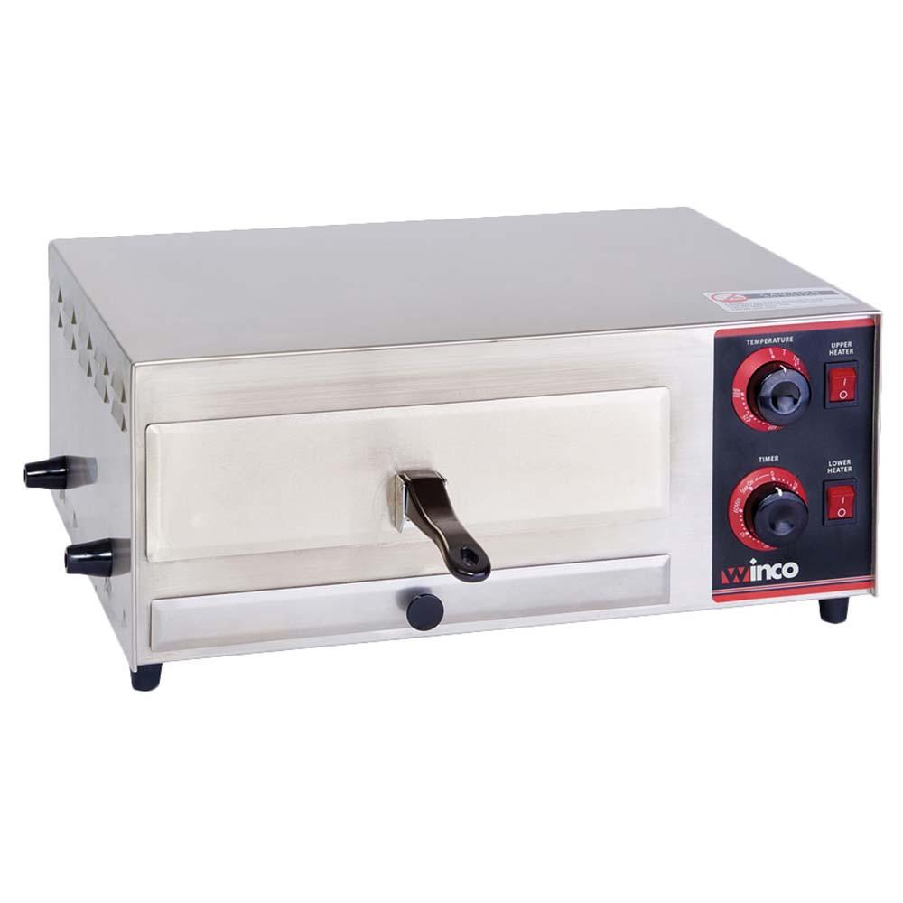 Winco Epo 1 Countertop Pizza Oven Dial Control Accommodates