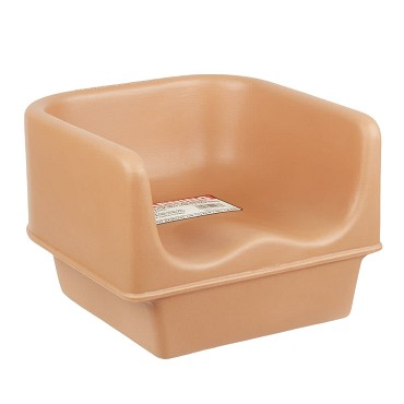 Cambro 100BC1157 - Booster Seat, single height, plastic, coffee beige