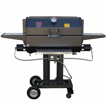R & V Works CG-30 - Smokin' Cajun Grill – Gas