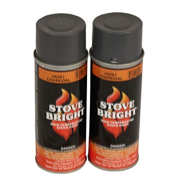 R & V Works SPRAYPAINT - High Temp Spray Paint for Grills