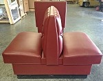Sims Superior Seating BOOTH-SET - 4 Double Booths and 2 Single Booths Set, 30