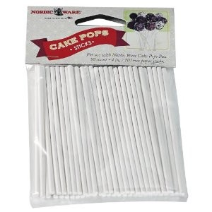 Nordic Ware 01175 - Cake Pop Sticks, 50 pk.