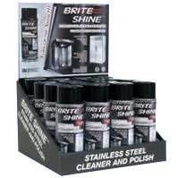 Discovery 140611001-16AR - Brite Shine Stainless Steel Cleaner, Aerosol 11oz. can.