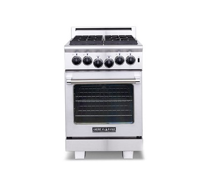American Range ARR-244 - Heritage Classic 24 Inch Residential Gas Range