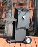 R & V Works FF2-R - 2-Basket Outdoor Cajun Fryer