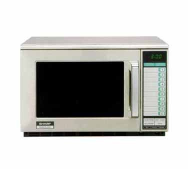 Sharp R-25JTF - Microwave Oven, 2100 watts, Heavy Duty Commercial