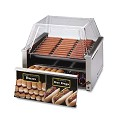 Hot Dog Roller Grills with Bun Warmer