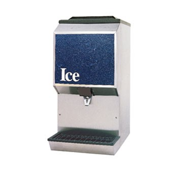 SerVend 2706332 - Ice Dispenser, countertop, 90 lbs. ice capacity, (manual fill only)
