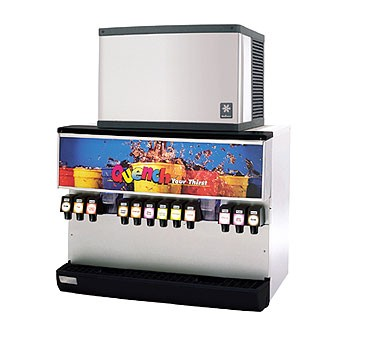 Multiplex MDH-302 - Ice & Beverage Dispenser, 300 lbs. ice, (2) dispense points, (12) valves
