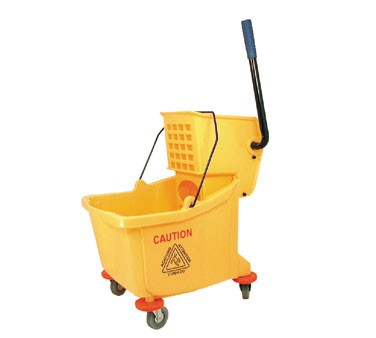 Update MBK-9 - Mop Bucket w/Wringer, 36 quart bucket, PP material, yellow