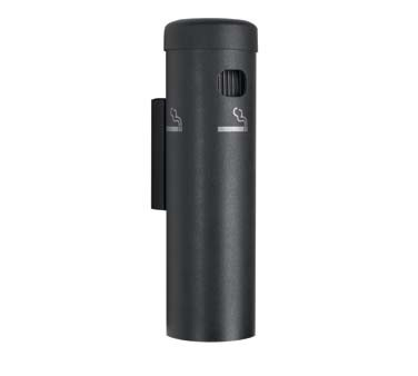 "Aarco SB15W - Cigarette Receptacle, 3-1/2"" dia. x 12-1/4""H, wall mounted"