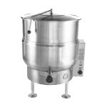 AccuTemp ACEL-30 - Steam Kettle, Electric, stationary, 30 gallon, 2/3 steam jacket, tri-leg base