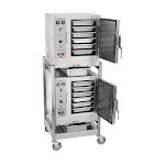 AccuTemp S64403D120 DBL - Two Convection Steamers & Stand, electric, connectionless, 12kw, 440/3ph