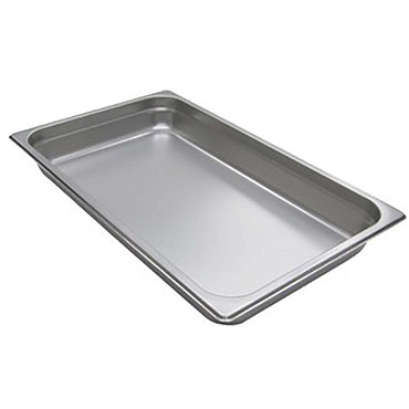 Adcraft 200F2 - Stainless Steel Steam Table Pans, full size 20-3/4 by 12-3/4, de