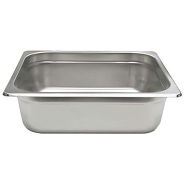 Adcraft 200H4 - Stainless Steel Steam Table Pan, Half size 12-5/8 by 10-3/8, dep