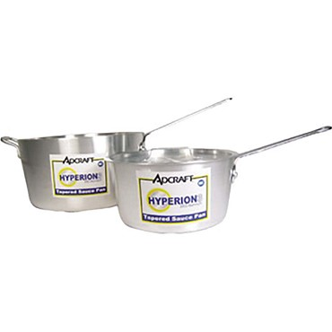 Adcraft H3-TSP2 - Sauce Pan, tapered, 2-3/4 qt. capacity, heavy 3.0mm thick alumin