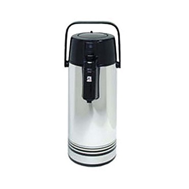 Adcraft AP-22 - Push Button Airpot, 2.2 liter, stainless steel construction