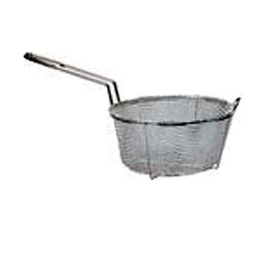 "Adcraft BFSM-1125 - Six Mesh Fryer Basket, Diameter 11-1/4"" , Depth 6"" , made to be us"