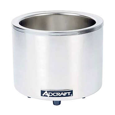 Adcraft FW-1200WR - Food Cooker/Warmer, electric, countertop, base only, 11 qt. capacity converts to 7 qt.