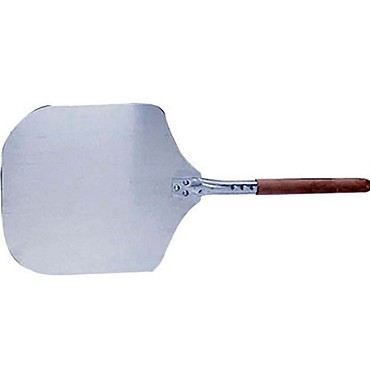 "Adcraft PZ-2512 - Pizza Peel, aluminum blade, with wood handle, 12"" x 14"" , 26"" O.A"