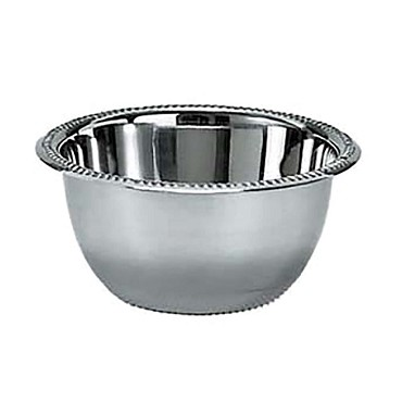"Adcraft SIB-40 - Ice/Relish Bowl, 40 oz., 7-1/2"" top diameter, 18/8 stainless ste"