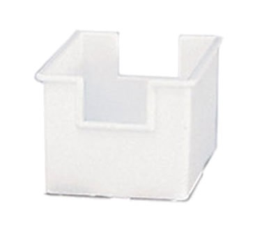 "Adcraft SUG-4WH - Sugar Packet Holder, 3-1/2"" L x 2-1/2"" W x 2"" H, white, (Case of 12)"