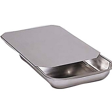"Adcraft V-144 - Bake Pan Only, 13-3/4"" x 9-1/2"" x 2"" , stainless steel"