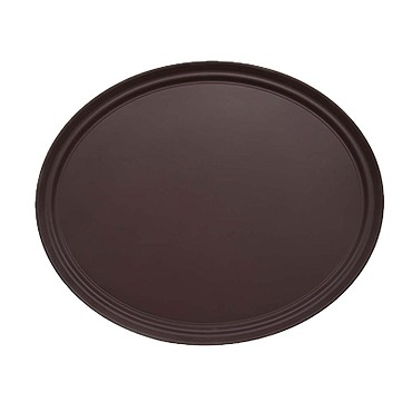 Adcraft NST-2429BR/OVAL - Serving Tray
