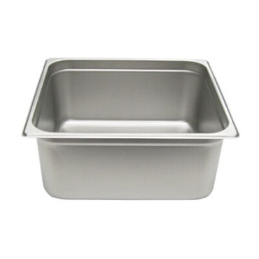 Adcraft 200H6 - Stainless Steel Steam Table Pan, Half size 12-5/8 by 10-3/8, dep