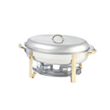 Adcraft GRG-6 - Gold Regent Oval Chafer, 6 qt.