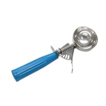 Adcraft ICS-16 - Ice Cream Disher, size 16, thumb action, blue handle, NSF approv