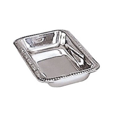 "Adcraft SCT-9 - Celery/Bread Tray, 9"" x 4-1/2"" x 1-1/4"" , 18/8 stainless steel, g"