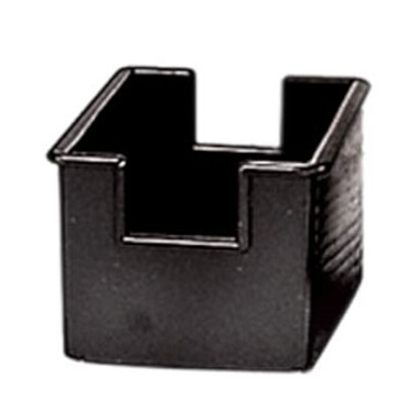 "Adcraft SUG-4BK - Sugar Packet Holder, 3-1/2"" L x 2-1/2"" W x 2"" H, black, (Case of 12)"