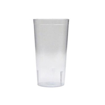 Adcraft TPP-12CL - Tumbler, 12 oz., textured, stackable, clear, (Case of 12)