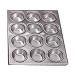 Adcraft AMP-12 - Commercial Weight Aluminum Muffin Pans available in 12 or 24 cup