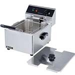 Adcraft DF-6L - Electric Countertop Fryer, Single Fry Pot