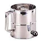 Adcraft FLS-8 - Rotary Flour Sifter, 3 lb. Capacity