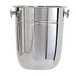 Adcraft WB-8 - 8 qt. Wine Bucket, Stainless Steel w/ Mirror Finish