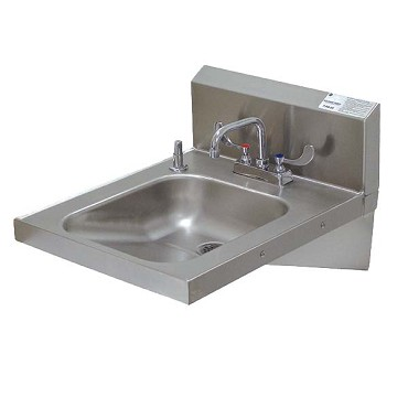 "Advance Tabco 7-PS-25 - ADA Compliant Hand Sink, wall model, 14"" wide x 16"" fron"