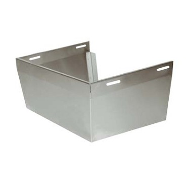 "Advance Tabco 7-PS-31B - Skirt for 17-1/4"" wide hand sink with deck mounted fauc"