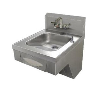"Advance Tabco 7-PS-46 - ADA Compliant Hand Sink, wall model, 14"" wide x 16"" fron"