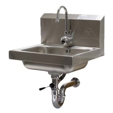 "Advance Tabco 7-PS-51 - Hand Sink, wall model, 14"" wide x 10"" front-to-back x 5"""