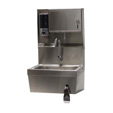 "Advance Tabco 7-PS-82 - Hand Sink, wall model, 14"" wide x 10"" front-to-back x 5"""