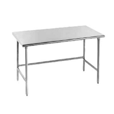 Advance Tabco TSAG-305 - Work Table, 60 x 30 inch, 16 gauge 430 stainless steel