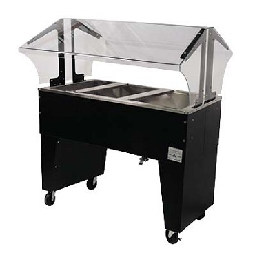 Advance Tabco B3-CPU-B - Triumph Portable Cold Food Buffet Table, ice cooled, (3) pan siz