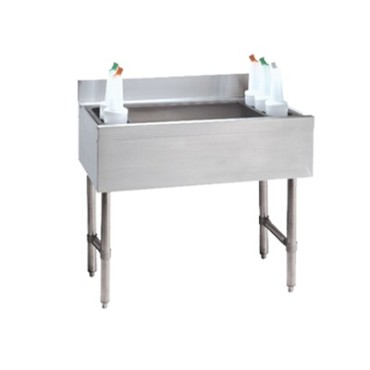 "Advance Tabco CRI-12-36-7 - Challenger Cocktail Unit, 12"" deep chest w/7-circuit cold plate,"