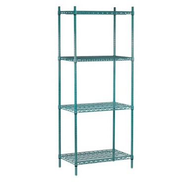 "Advance Tabco EGG-1442 - Shelving Unit, wire, 42""W x 14""D x 74""H, includes: (4)"
