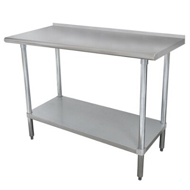 Advance Tabco FAG-3011 - Work Table, 132 x 30 inch, 16 gauge 430 series stainless steel